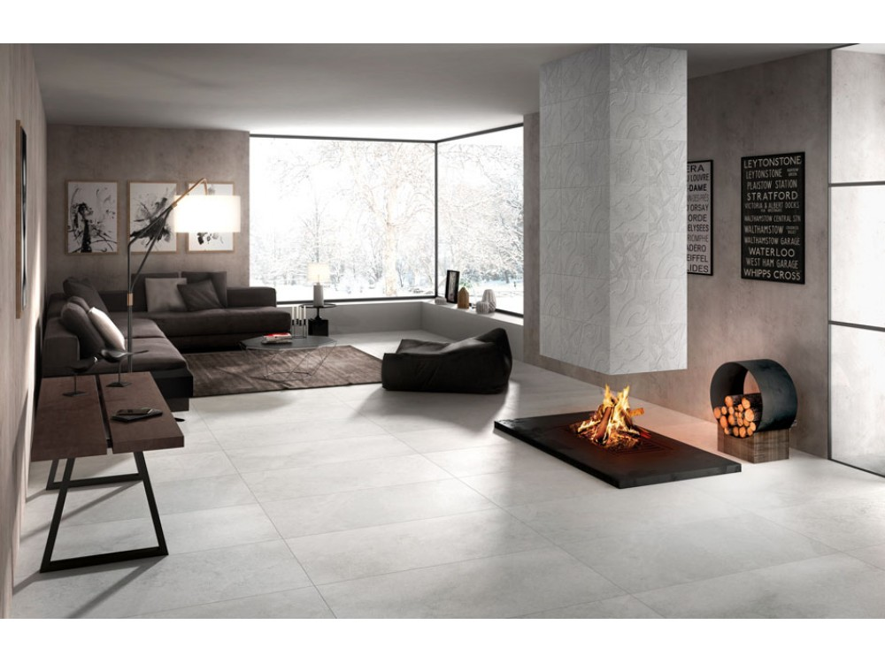 Palace Bianco Stone Effect Rectified Porcelain