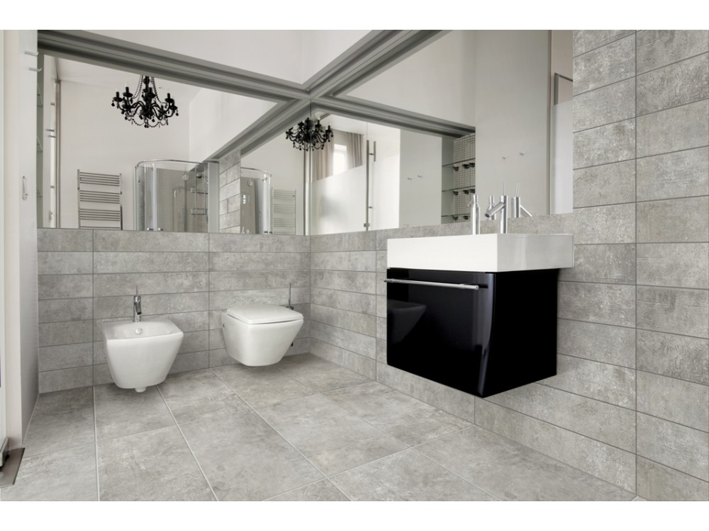 ITALIAN RECTIFIED CEMENTO MEDIUM PORCELAIN, 50% DISCOUNT 90x45, 60×60 & 90×22 £27 m2 (External Available)
