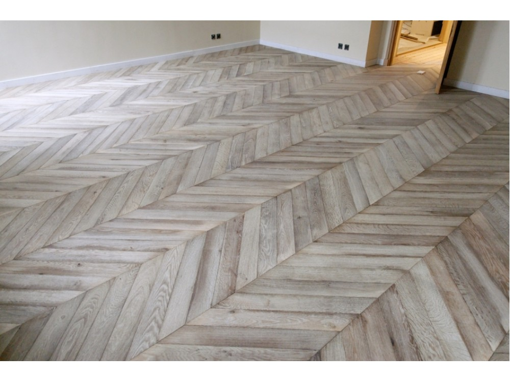 Chevron Parquet Oak