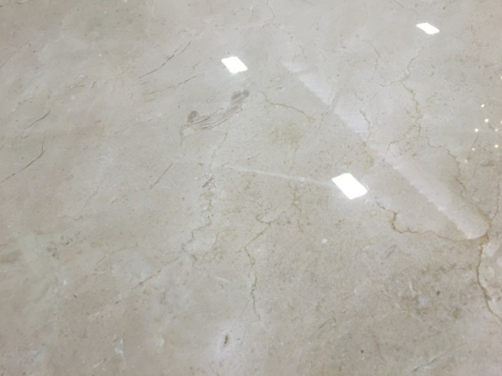 Crema Marfil Polished Spanish Marble (End of Line 48 m2 Left)